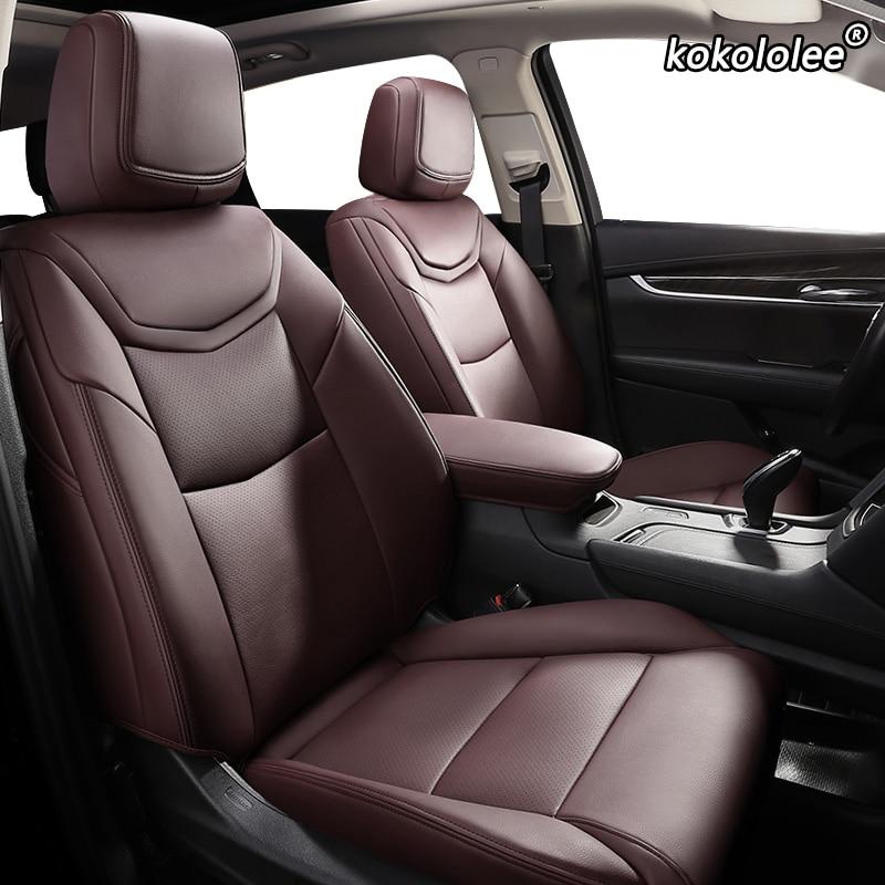 Kokololee housse de siège de voiture en cuir sur mesure pour KIA Sportage Optima Cerato Forte Soul RIO K2 K3 K3S K4 K5 KX3 KX5 KX7 KX CROSS auto