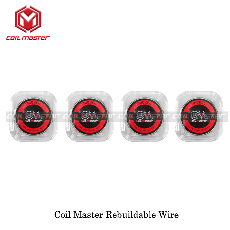 Electronic Cigarettes Original Coil Master CoilMaster SS316L/Nickel/A1 Wire Rebuildable Device For RDTA RTA RDA Vape Vaporizer