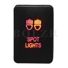 BQLZR Double Red Pattern Switch S-NT Spot ON-OFF Switch for New Style TOYOTA