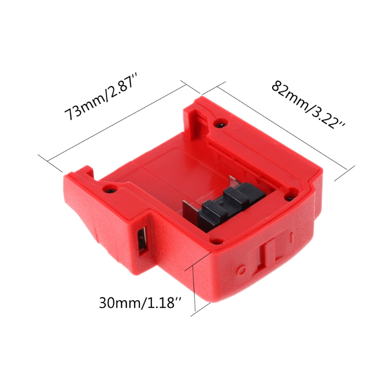 2018 Power USB Charger Adaptor For Milwaukee 49-24-2371 M18/M12 Heated Jackets 15-21V JUL31_33