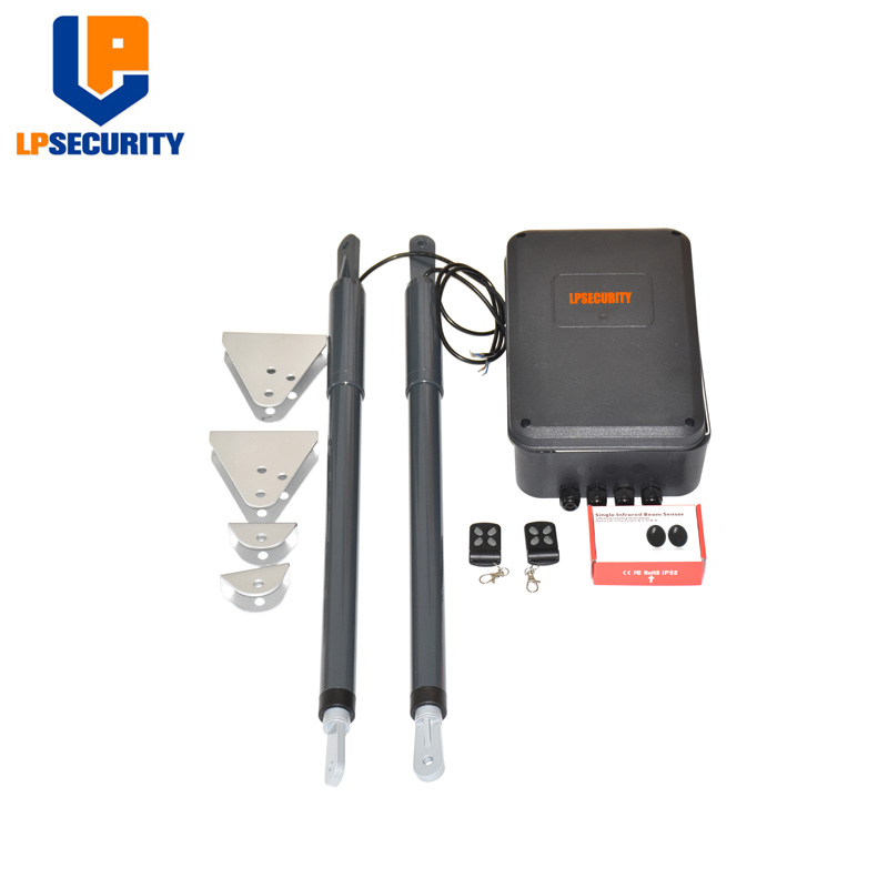 Image 3 - 12VDC 200kg per leaf Swing Gate Opener system Electrical gate motor with optional outdoor fingerprint keypad reader-in Access Control Kits from Security & Protection