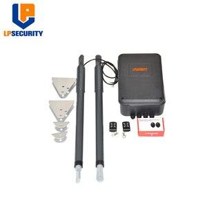 Image 3 - 12VDC 200kg per leaf Swing Gate Opener system Electrical gate motor with optional outdoor fingerprint keypad reader
