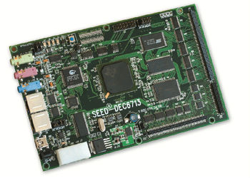 SEED-DEC6713 high-performance embedded floating point DSP development board TMS320C6713