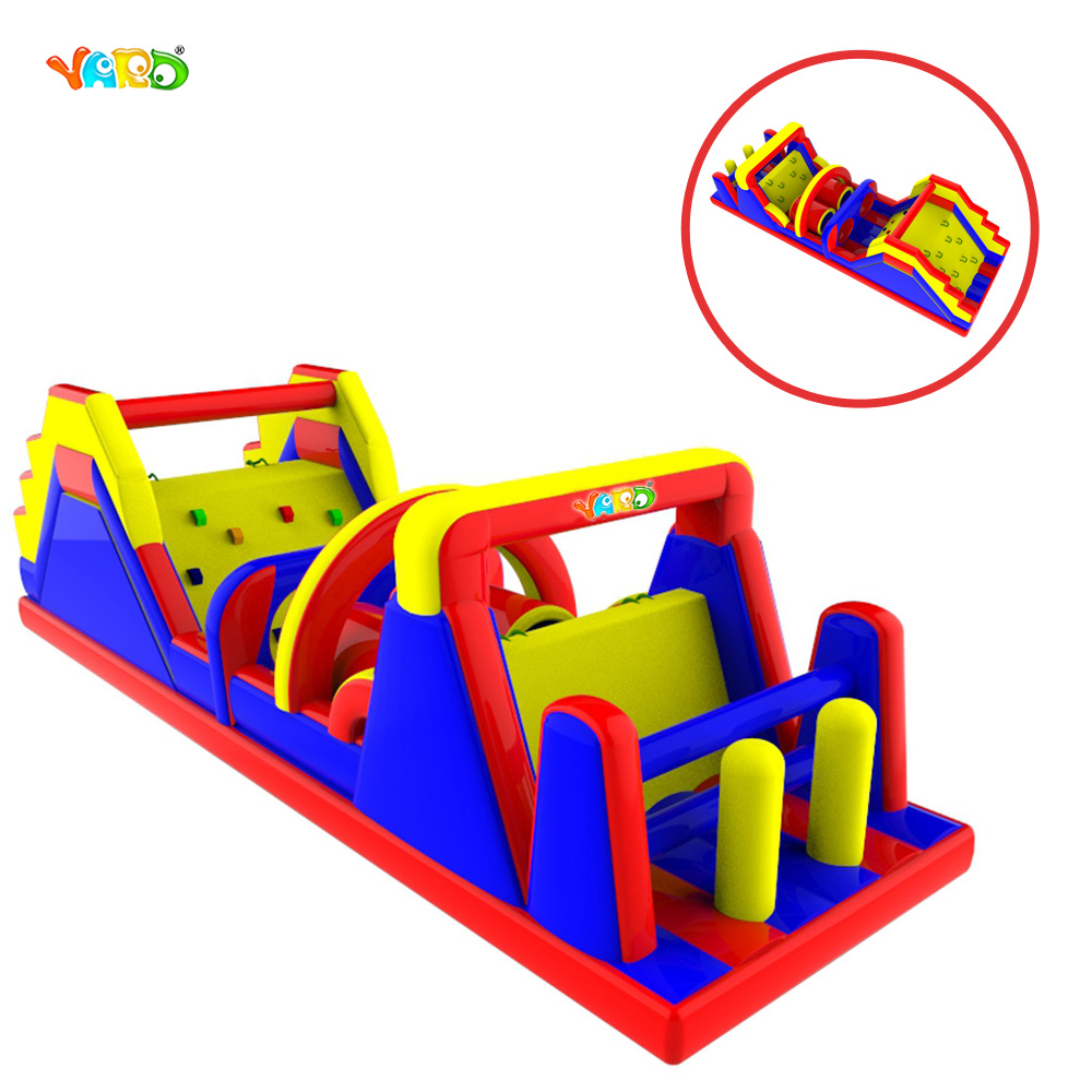 New Fashion Inflatable Obstacle Course Game for Sale jungle cheap small inflatable obstacle course for sale