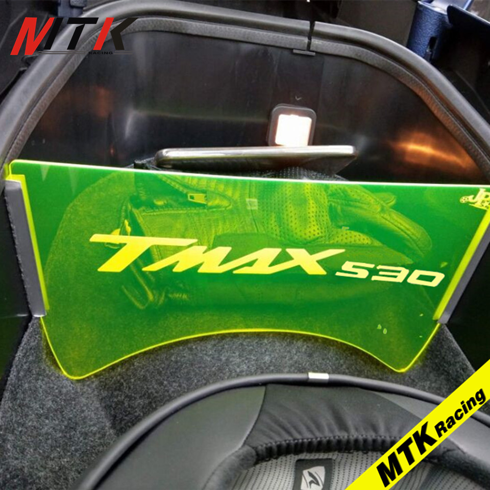 MTKRACING 2017 motorcycle accessories For YAMAHA TMAX 530 2017 motorcycle compartment luggage compartment isolation plate T max new e000 22070 isolation transformer three phase isolation transformer pcb max 500v