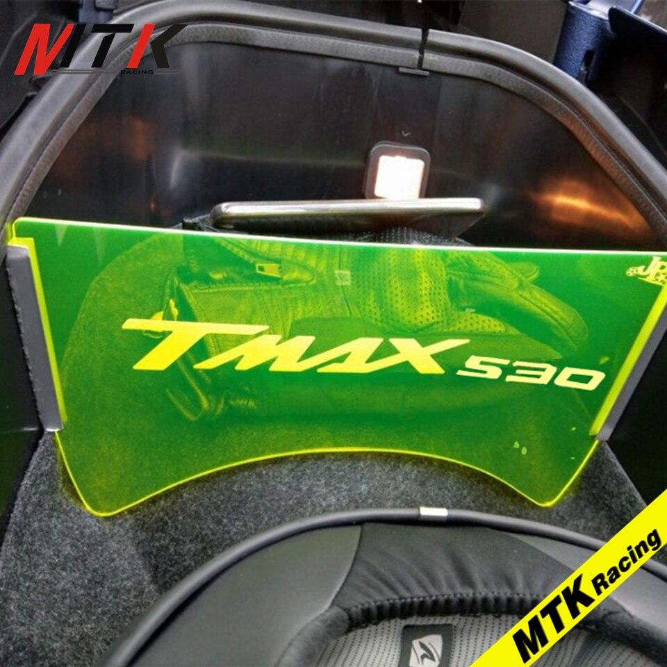 MTKRACING 2017 motorrad zubehör Für YAMAHA TMAX 530 2017 motorrad fach gepäck fach isolation platte T max