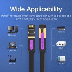 Image 5 - Vention Ethernet Cable RJ45 Cat7 Lan Cable STP Network Cable 1M 2M 3m 5m 8m 10m 15M  patch cord Cable for PC Router Laptop Cat 7