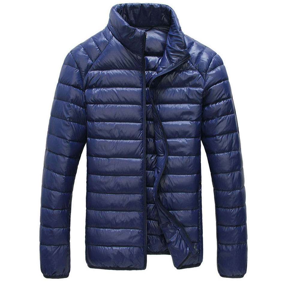 Brand Men Jackets Solid Breathable Winter Duck Down Jacket Mens Coat Lightweiht Parka Plus Size XXXL jaqueta masculina ...