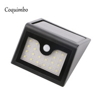 20 LEDs Sensor Light Motion Activated Night Lights Solar Power Wall Emergency Outdoor Wall Lamp Motion