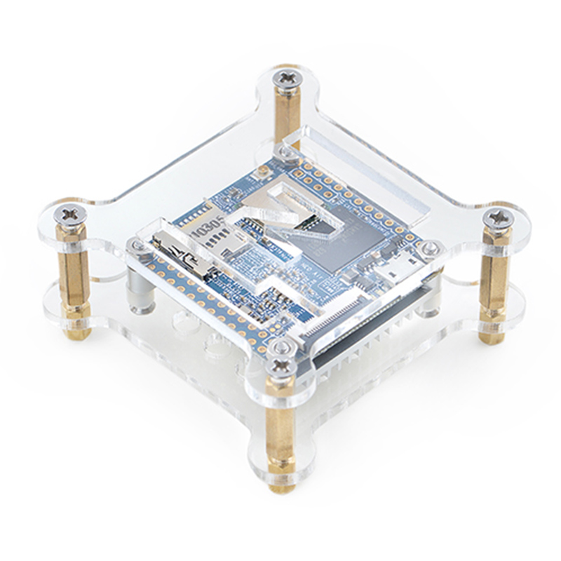 Transparent Acrylic Bracket Case For NanoPi NEO/NEO2/NEO Air