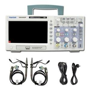 Image 1 - Hantek Osciloscopio Digital DSO5202P, ancho de banda de 200MHz, 2 canales, PC, USB, LCD, portátil, herramientas eléctricas