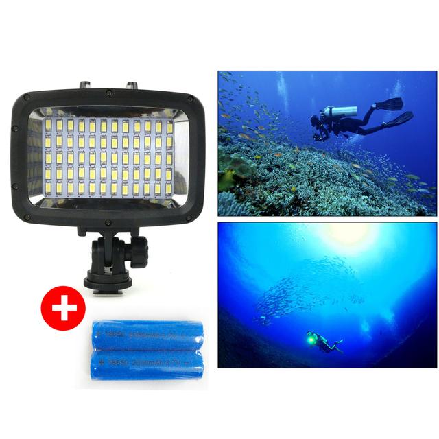 Orsda LED Video light 40 M câmera Subaquática à prova d' água até 40 m LEVOU a Fotografia de luz lâmpada para o caso à prova d' água