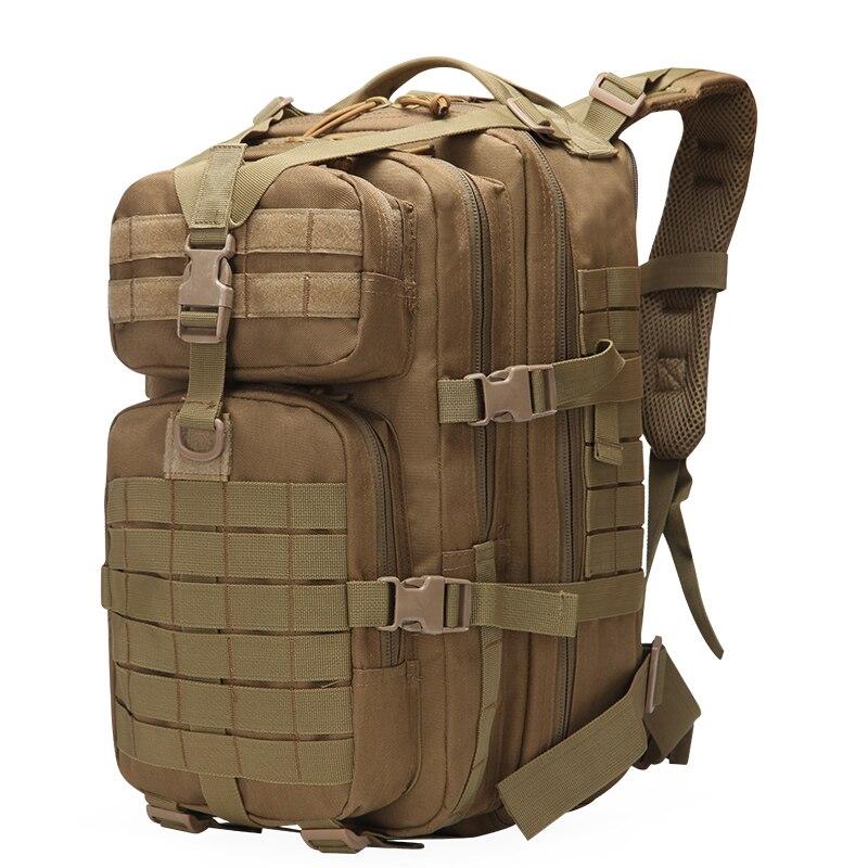 Mochila táctica militar gran ejército 3 días Paquete de asalto impermeable Molle Bug Out bolsa mochilas al aire libre senderismo Camping caza