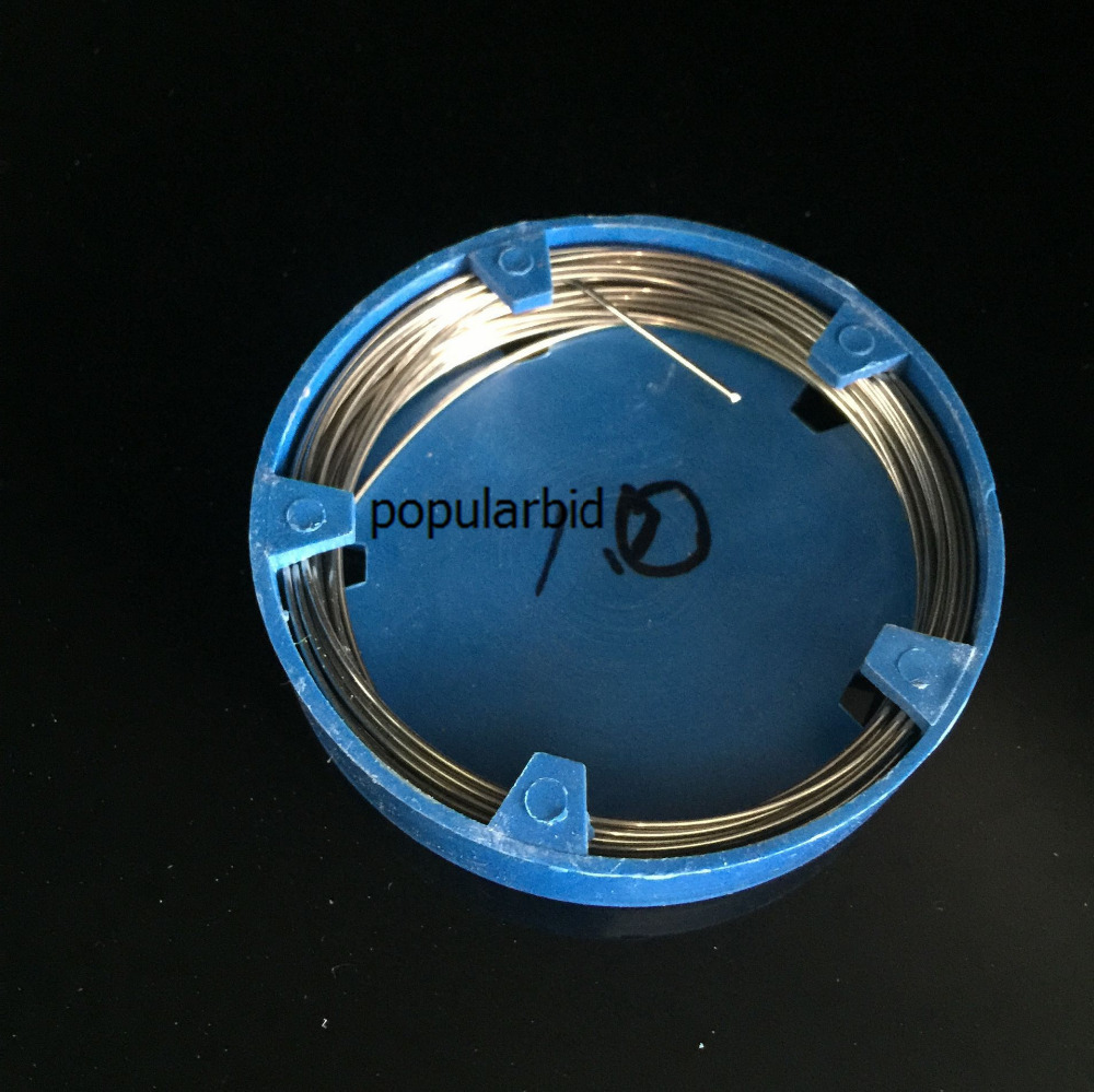1pcs Dental Stainless Steel Wire Surgical Instruments (Dia 1.0mm)  1 2mm dia 7x7 5 2m long flexible stainless steel wire cable for grinder