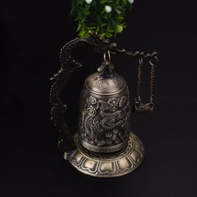Decorative Copper Buddhism Bell