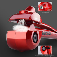 Steam Spray Automatic Hair Curler LED Digital Hair Curling Iron Ceramic Professional Deep Wave Hair Waver