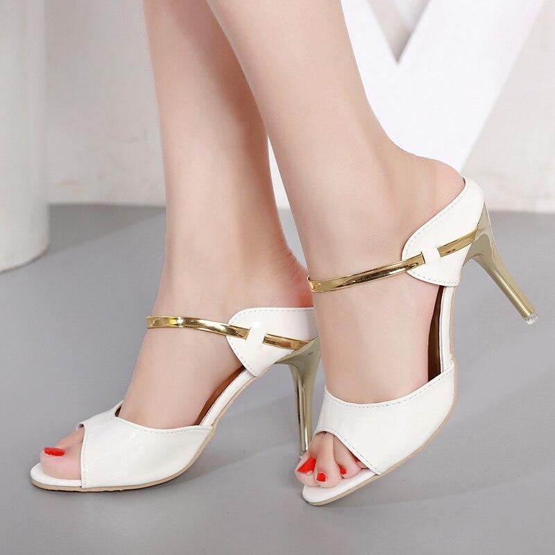 c88b8221df6b6 High Heels Women Pumps Women Shoes Gold Silver