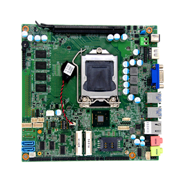 H81 Motherboard LGA1150 for desktop computer, Support Intel i3/i5/i7 ...