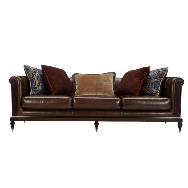 Fesselnd Zeitgenössische 3 Sitzer Leder Modernes Sofa Design, Mitte Des Jahrhunderts  Moderne Designer Leder Sofa