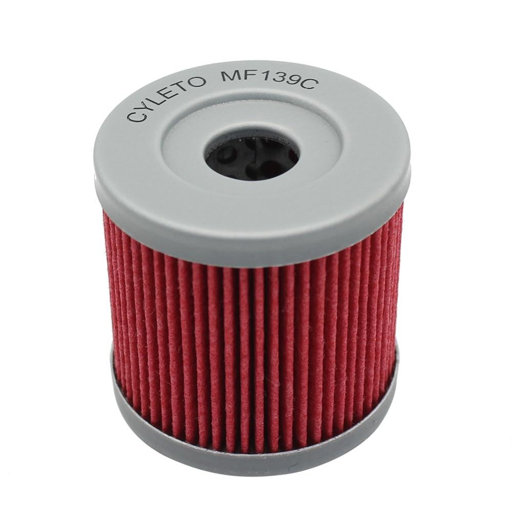 Cyleto Oil Filter for DRZ400 DRZ 400 2000 2001 2002 2003 2004//DRZ400E 2000 2001 2002 2003 2004 2005 2006 2007 2008