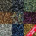 Alta qualidade 3mm 200 pcs cristais Austríacos Bicone solta pérolas bola fornecimento de superfície cor chapeamento colar pulseira Fazer Jóias
