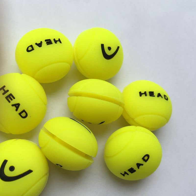 (5pcs/lot) Silicone Neon Balls Design Tennis Vibration Dampener,Tennis Racket Dampener,tennis Racket Shock Absorber