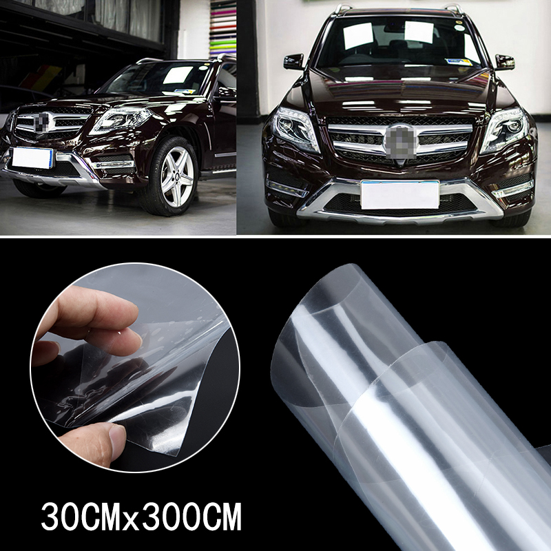 Clear Paint Protection Car Bike Vinyl Tape Sticker Film Wrap Transparent 300cm in Car Stickers from Automobiles Motorcycles