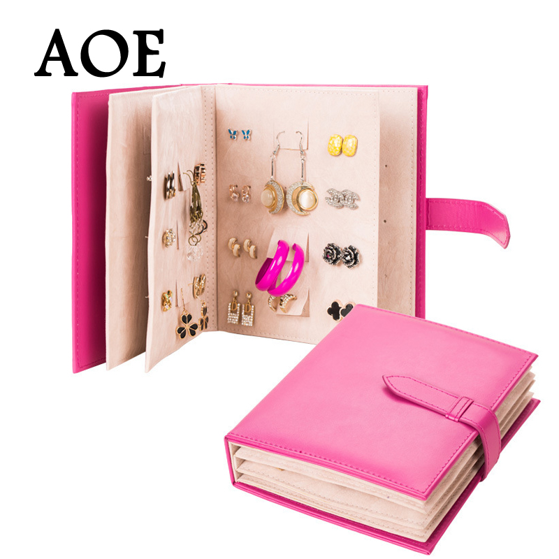 2016 New Design Jewelry Boxes And Packaging Pu Leather