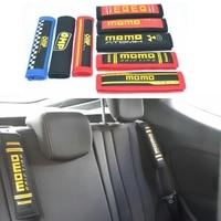 JK Universal 1 Pair Racing Car Seat Belt Shoulder Pad Sets Racing Harness Cover Seat Belt