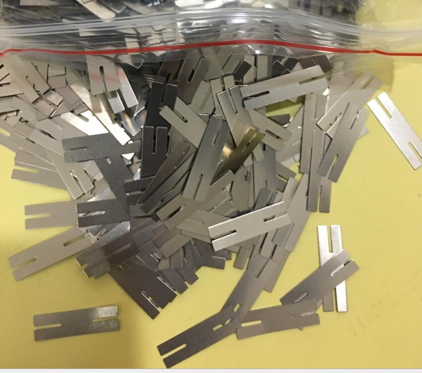 1kg 0.15x28x8mm H type Nickel Plated Steel Strap Strip Sheets for 2P 18650 battery spot welding machine 304mhz dominator remote duplicator factory supply directly top quality with cheap price