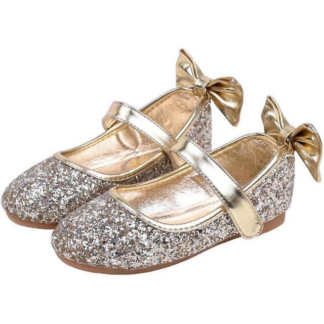 Children Leather Shoes Child Girls Princess Spring Elsa Soft Shoes Chaussure  Enfants Sandals Party Elsa Shoes 86c912168430