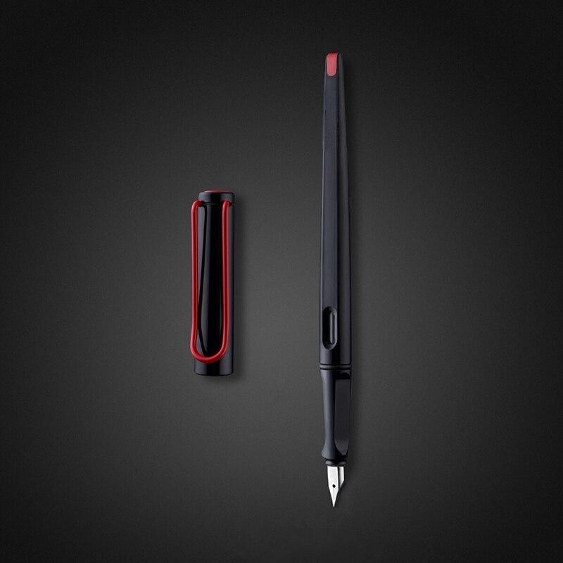 Stylo plume plastique long corps 0.38mm stylos à encre pour l'écriture dolma kalem pluma fuente stylo plume caneta tinteiro papeterie 1079