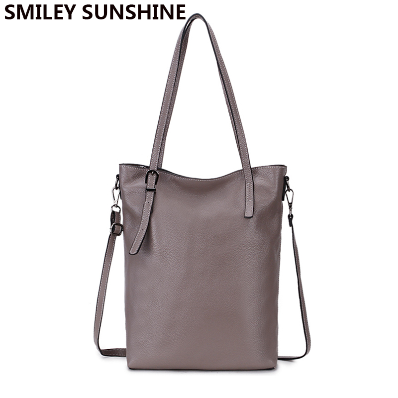 100% Real Genuine Leather Bags Soft Women Leather Handbags Casual Ladies Hobos Shoulder Bags Female Fashion Hand bags Tote 2018 2018 women genuine leather handbags famous brand design tote bags leather ladies shoulder bags fashion luxury female hand bags