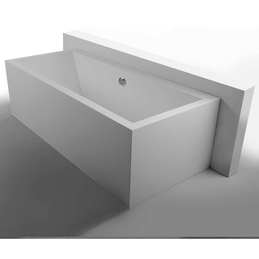 1800x800x610mm Solid Surface Stone CUPC Approval Bathtub Rectangular ...