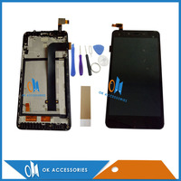 Black Color For Xiaomi Redmi Note 2 Note2 LCD Display Touch Screen Digitizer Assembly With Frame
