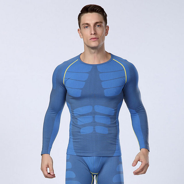 Hot 2017 Men Long Sleeve Shaper Slimming Body Shaper Waist Cincher Tummy Control Girdle Shirt Belly Shaper Underwear