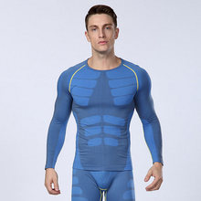 Hot 2017 Men Long Sleeve Shaper Slimming Body Shaper Waist Cincher Tummy Control Girdle Shirt Belly Shaper Underwear