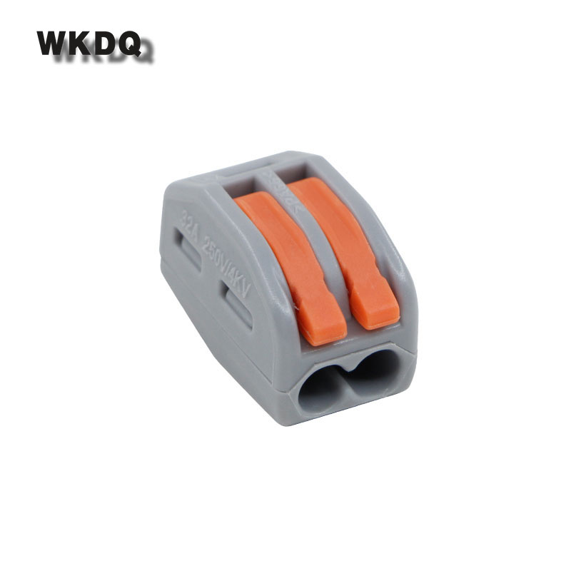 Wago 222-412 Quick Wiring Compact Splicing Connector Terminal Block Fast Connectors 20pcs