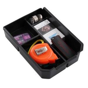 Image 2 - Compartimento de reposabrazos para coche almacenamiento secundario, guantera Central, soporte para teléfono, bandeja contenedor para Toyota RAV4 RAV 4 2013 2014 2015 2016