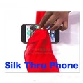 Silk Thru Phone close up stage magic trick through magic easy to do Mentalism 83141
