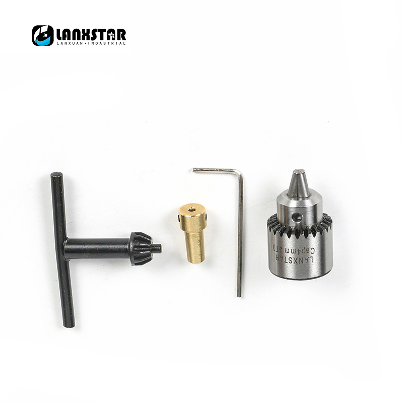 Classical Micro Handle Electric Drill JTO Chuck 0.3~4mm Taper Mounted Lathe Chuck with 2.3mm Copper Sleeve Suit Motor Shaft Rod mini drill chuck 0 3 4mm jto taper mounted key lathe chuck pcb mini drill press applicable to motor shaft connecting rod 8 mm