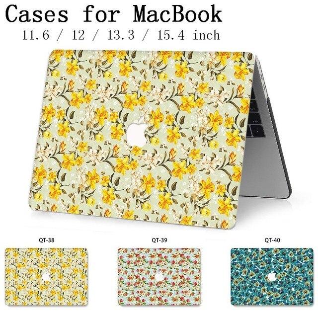 Nowy dla Notebook MacBook etui na laptopa pokrowiec Tablet torby na dla MacBook Air Pro Retina 11 12 13 15 13.3 15.4 cal Torba A1990