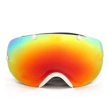 Double Anti-Fog Ski Goggles Big Spherical Lens UV Protective Esqui Winter Sports Motocross Snowboard Skiing Eyewear SE3503