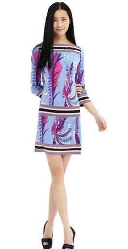 Nouveau limité femmes robe d'été doux Goldenbarr imprimer Gentlewomen élégant fantaisie tricoté élastique une pièce robe mode-in Robes from Mode Femme et Accessoires    1
