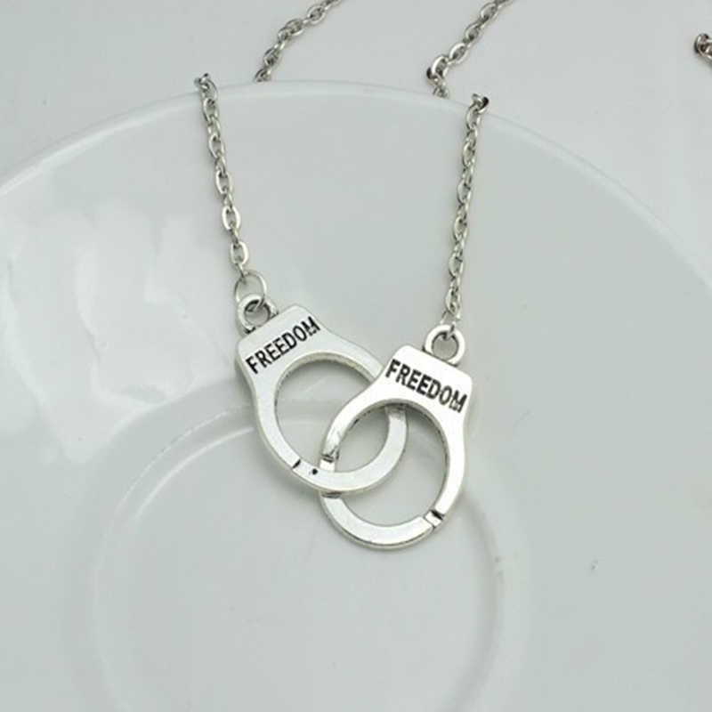 Borgol Pendant Kalung Untuk Wanita Pria Steampunk baru Collares Fashion Jewelry Kekasih Hari valentine Hadiah 8ND334