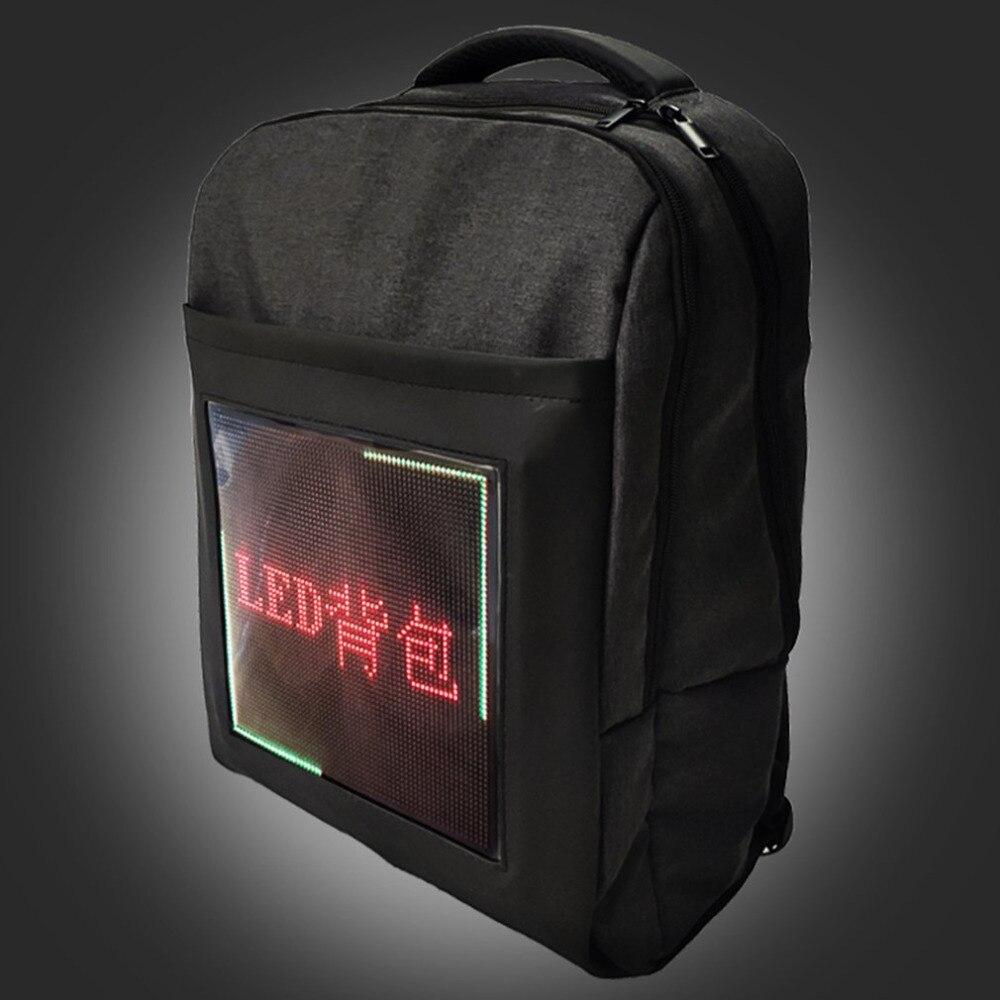Compact Backpack For Outdoor Advertisement Business Laptop Bags School Bag Double Shoulder Bag LED Back BagCompact Backpack For Outdoor Advertisement Business Laptop Bags School Bag Double Shoulder Bag LED Back Bag