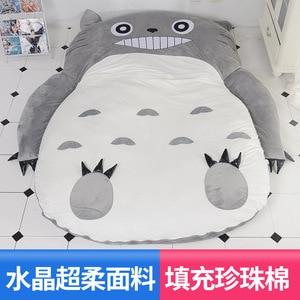 Image 2 - الكرتون فراش Totoro أريكة استرخاء سرير واحد الكرتون الحصير الحصير جميل الإبداعية غرفة نوم صغيرة أريكة سرير كرسي