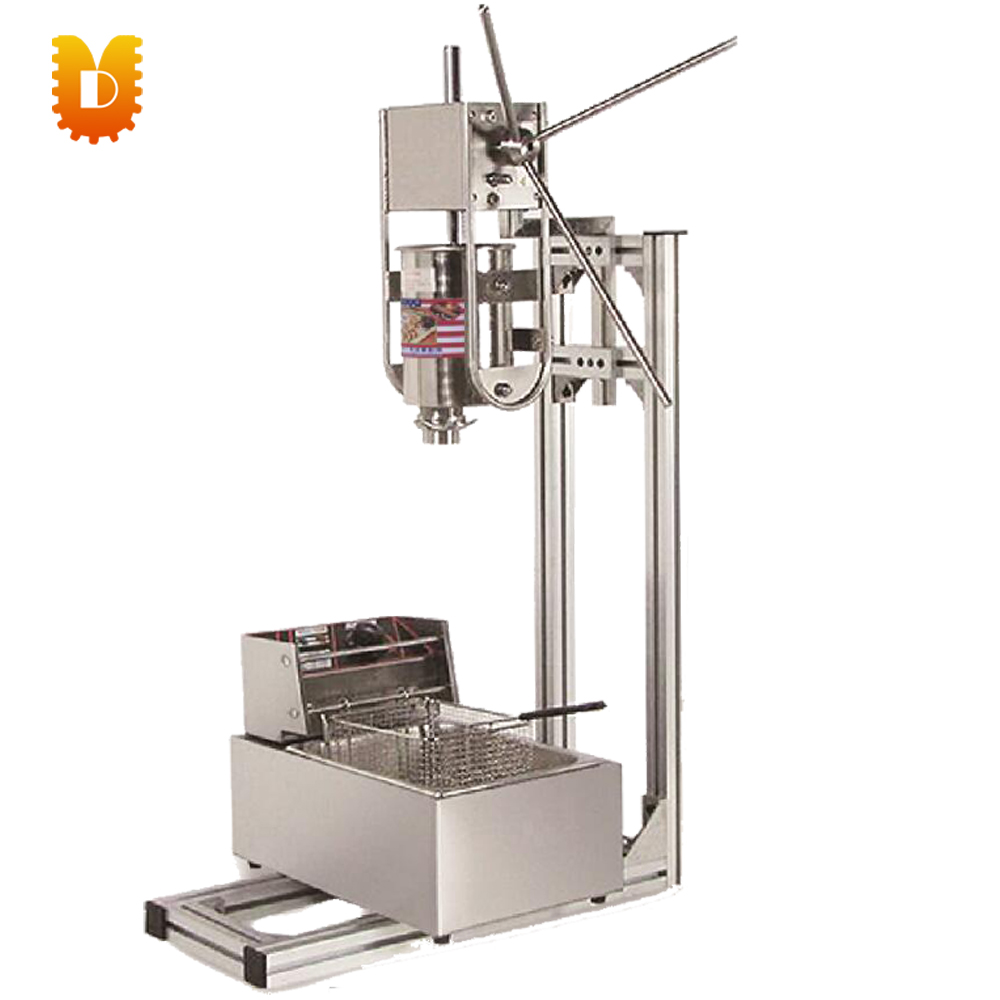 6L electrical fryer Spain churros making machine/home use churros maker machine commercial 5l churro maker machine including 6l fryer