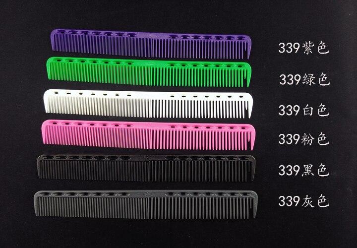 12pcs Ys barber comb hair salon comb tail combs