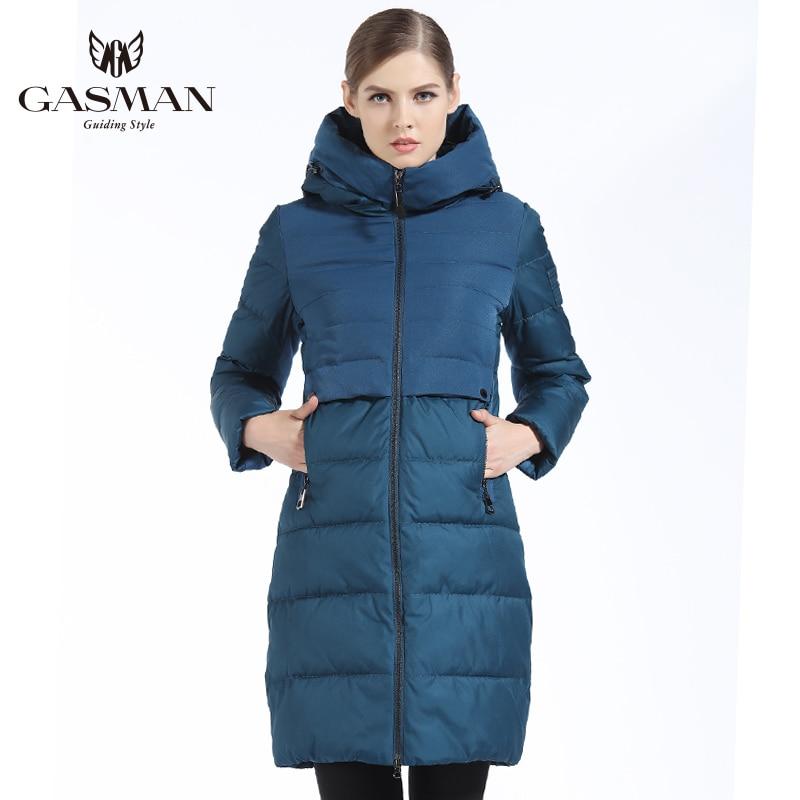 GASMAN 2019 Brand Women Winter Jacket And Coat Slim Long Women Thick Down Parka Hooded Women's Coat Bio Down Jacket For Women|Parkas| |  - title=